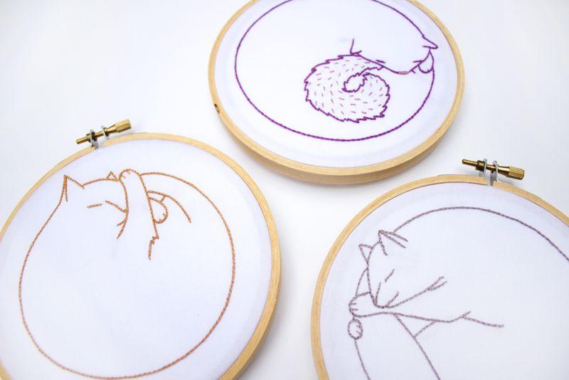 19-catnap-embroidery-kits